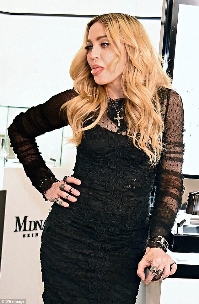 Madonna (Photo courtesy: WireImage/Daily Mail)