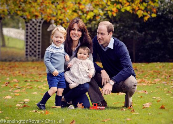 Duke and Duchess of Cambridge family