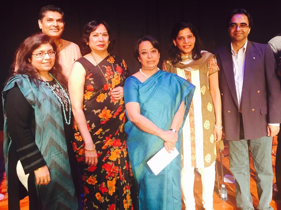IAGB team with newly appointed Consul General of India-NY (Photo: Praveena Naduthota)