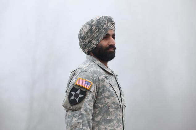 Simratpal Singh (Photo: Jovelle Tamayo, the Sikh Coalition vis New York Daily) Capt. Simratpal Singh received a Bronze Star in Afghanistan.