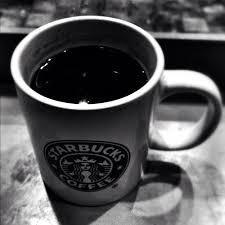 Starbucks-black coffee
