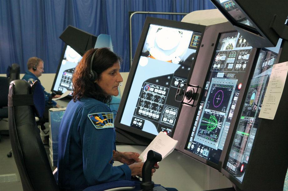 Sunita Williams-Space-s