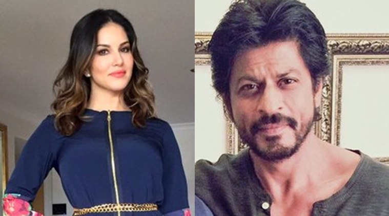 Sunny Leone harboured a dream of working with Shah Rukh Khan since the beginning of her Bollywood journey. (Photo courtesy: Indian Express)