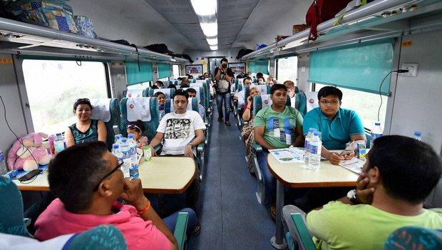 India's fastest train (Photo courtesy: Indian Express)