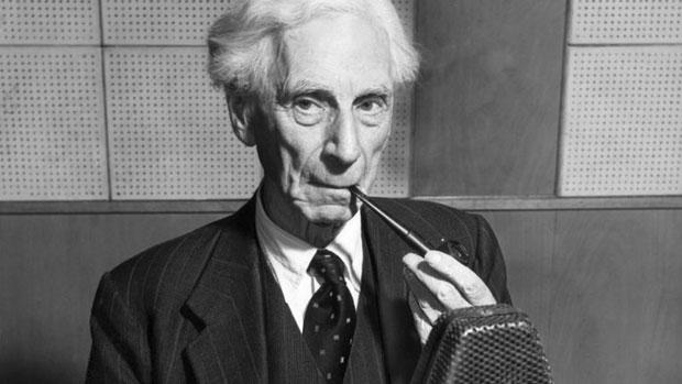 British philosopher Bertrand Russell