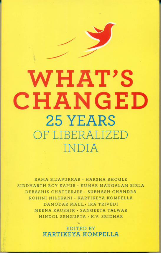 Book-What has changed