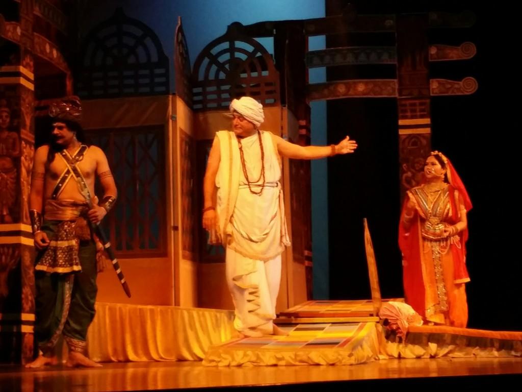 Chanakya Play (Photo: INDIA New England News)