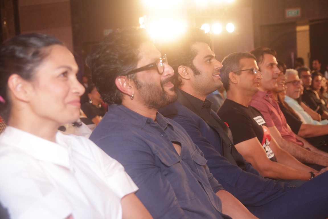 Maria, Arshad Warsi, Manish Paul, Parmeet Sethi, Naseeruddin Shat at Ghanta Awards
