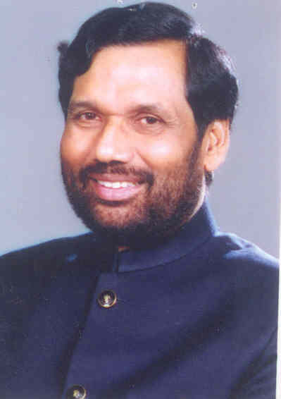 Consumer Affairs and Food Minister Ram Vilas Paswan