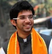 Aditya Thackeray is the son of Uddhav Thackeray, leader and chairperson of the Shiv Sena, and grandson of Balasaheb Thackeray. He is currently the head of Yuva Sena, a youth wing of Shiv Sena (Courtesy: Wikipedia)