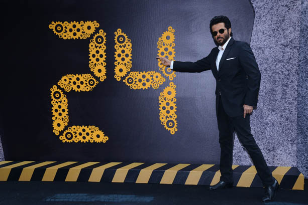 Anil Kapoor at the trailer launch of 24 Season 2