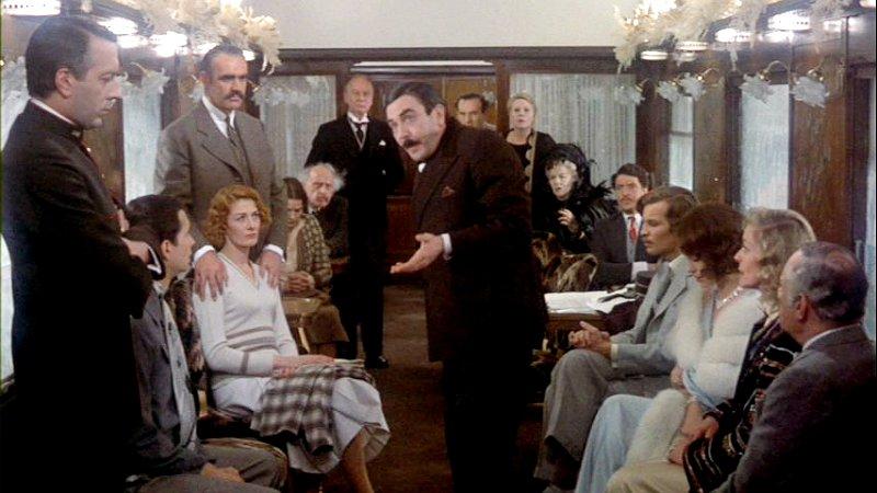 Hercule Poirot solves The Murder on the Orient Express
