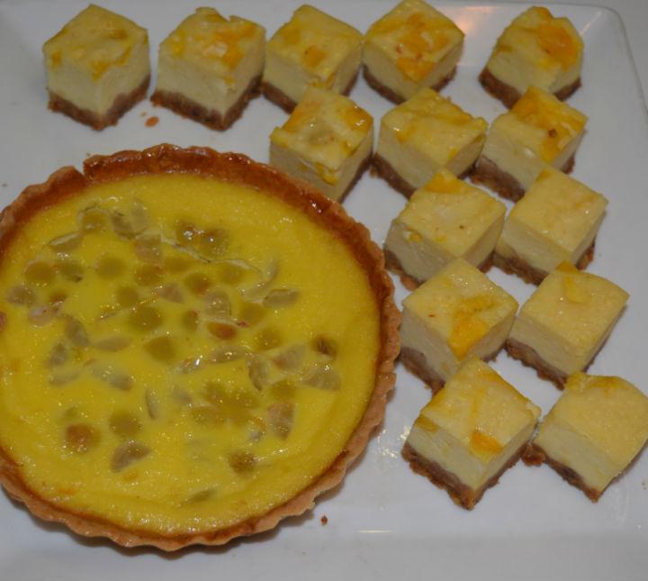 Mango Baked Cheese Cake