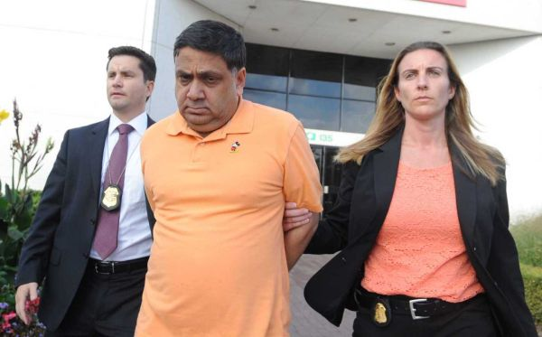 A federal judge has set a trial date of Jan. 9, 2017, for prominent Long Island restaurateur Harendra Singh, who has been charged with numerous crimes, including bribing a former Oyster Bay deputy town attorney. Photo Credit: James Carbone  (Courtesy: Newsday)