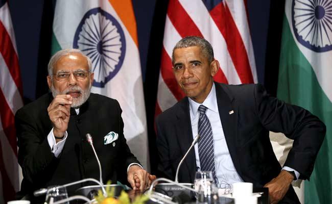 Prime Minister Modi and President Obama (Photo courtesy: Reuters/NDTV)