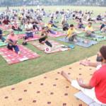 Shamshad Haider Yoga Session In Pakistan