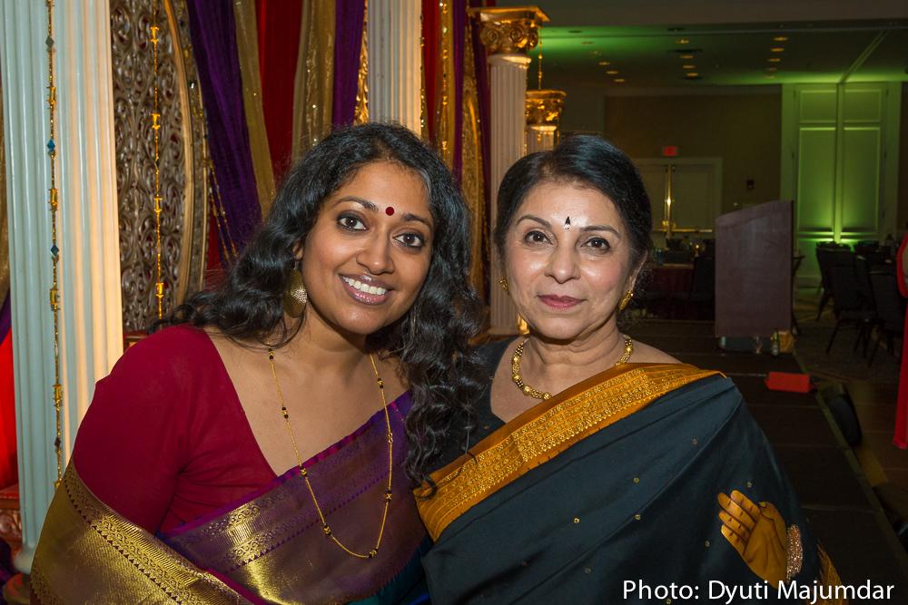Annette Philip and Jasmine Shah