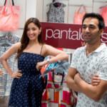 Yami Gautam with Pulkit Samrat at the launch of Pantaloons Noida-1