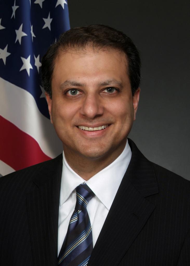 New York federal prosecutor Preet Bharara