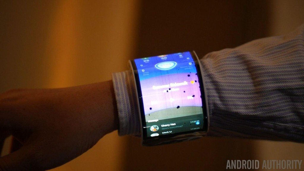 The Lenovo CPlus smartphone prototype.