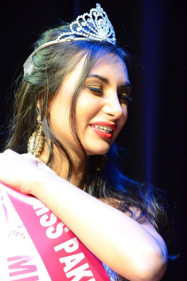 Miss Pakistan World Anzhelika Tahir