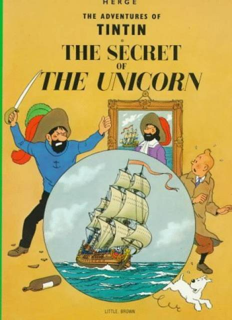 A Tintin adventure with a Caribbean connection and setting