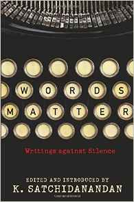Book-Words Matter-Writings Against Silence