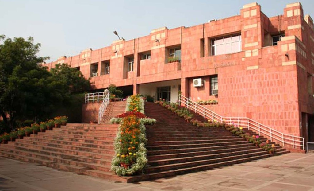 JNU attracts one of the largest number of foreign students in India.