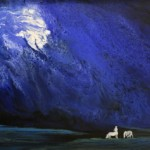 Silk Road-Painting Blue