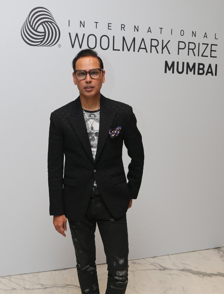 Designer Troy Costa and Jury member of 2016 2017 International Woolmark Prize India, Pakistan & Middle East Regional Final.