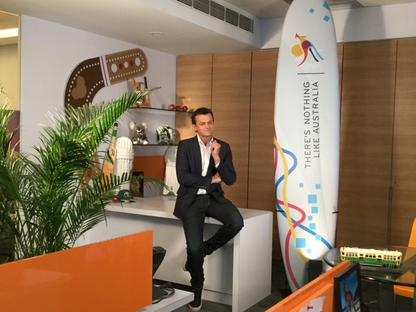 Adam Gilchrist during an interview with IANS. (Photo: IANS)