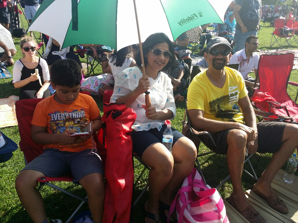 Indian-Americans gather to celebrate India Day at Hatch Shell (Photo: India New England News)