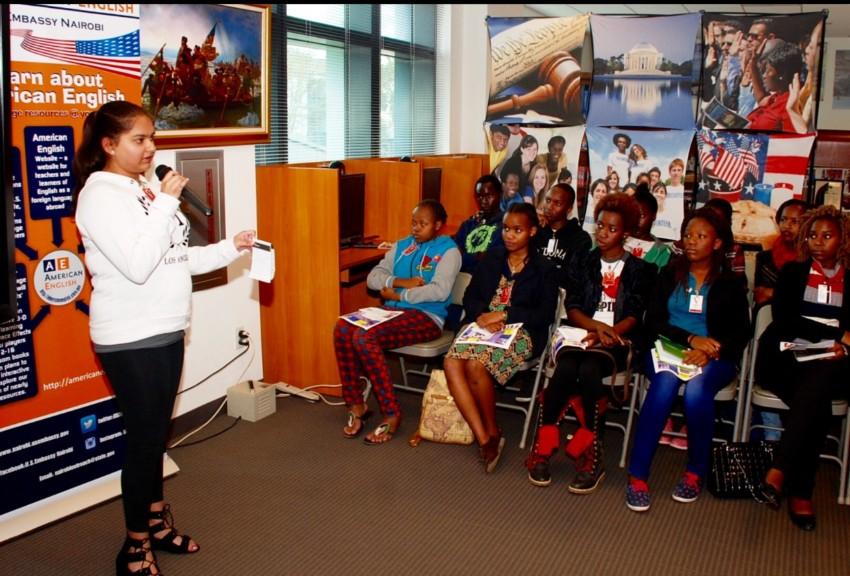 Neeharika Munjal addresses Youth of Africa