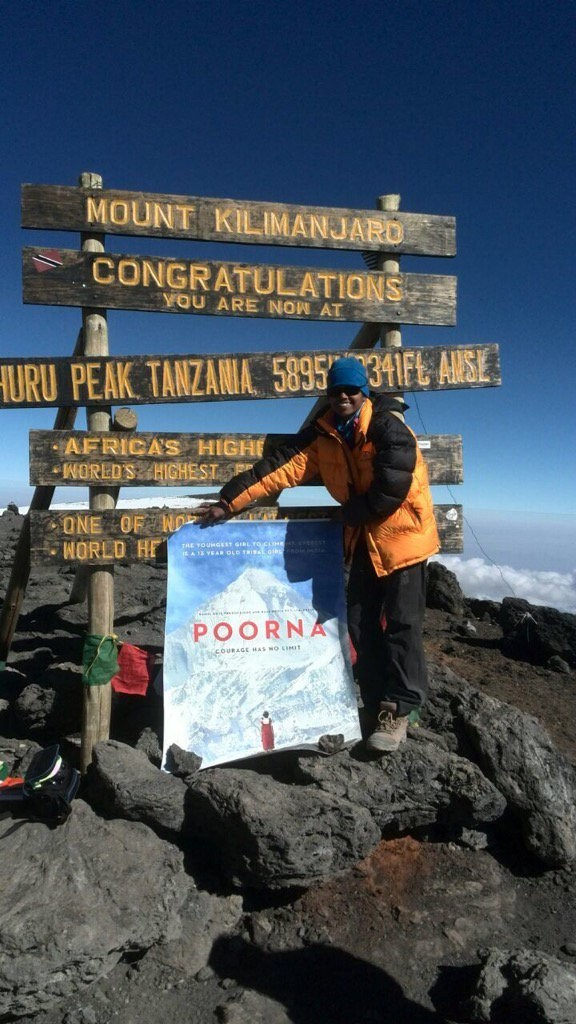 First look of \'Poorna\' unveiled on Mount Kilimanjaro