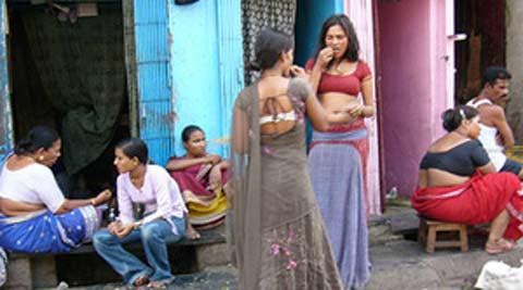 Sex workers in India (Photo courtesy: Indian Express)