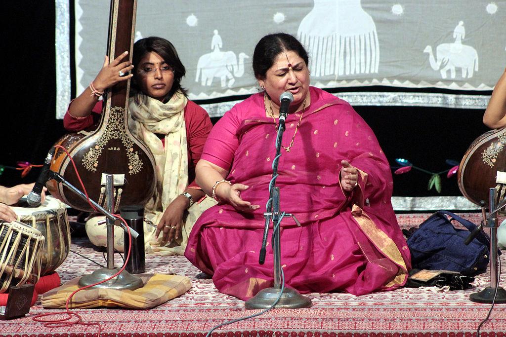 Shubha Mudgal (Photo Suyash Dwivedi-Wikipedia)