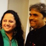 Sunayana Kachroo with Vishal Bhardhwaj