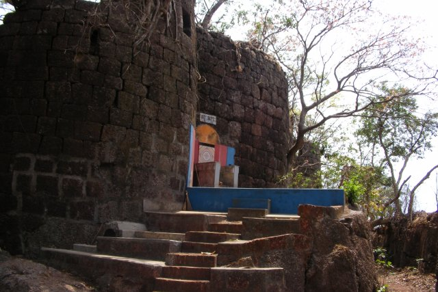 """Yashwantgad Fort, on Ratnagiri coast in Maharashtra. Sale in 2012 exposed by RTI and now it's taken over by state govt. Declared as """"a protected ancient monument of importance in Maratha Naval History."""