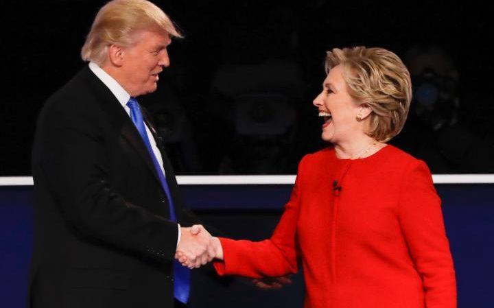 First Clinton-Trump debate (Photo courtesy: AP)