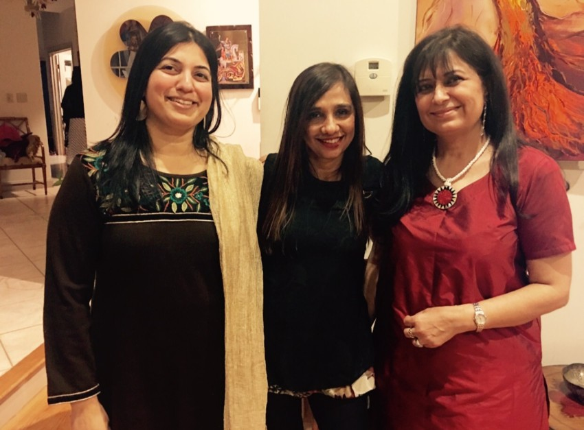 From left to right: Dr. Jhaveri, Dr. Aggarwal and Dr. Sheth.