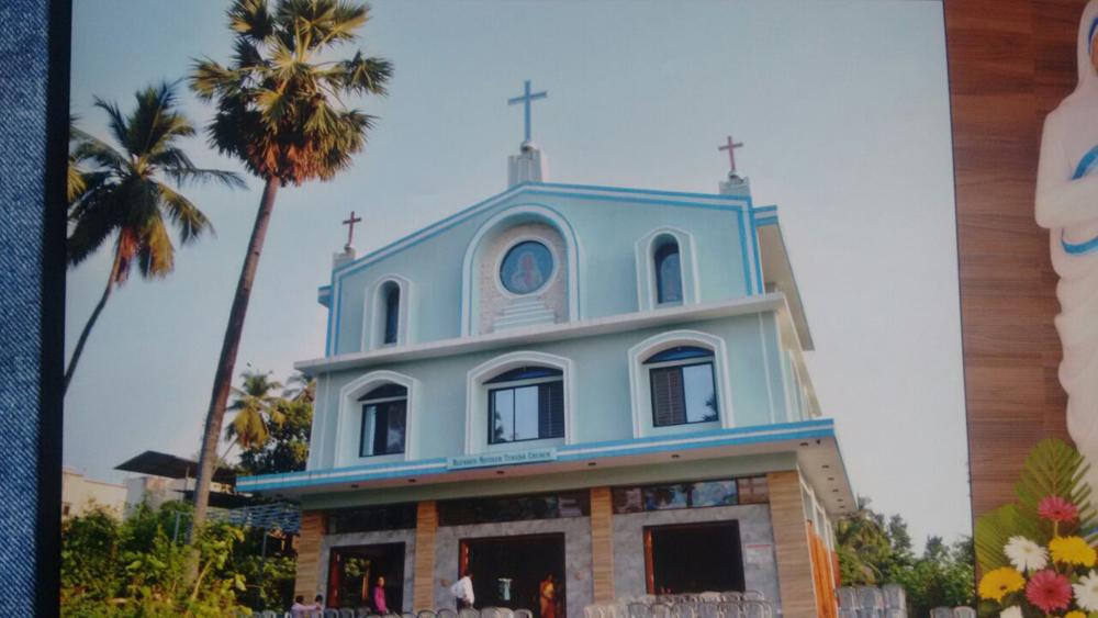 "The Blessed Mother Teresa Church in Virar, Maharashtra, was renamed as \""St. Mother Teresa Church\"" on Sunday."