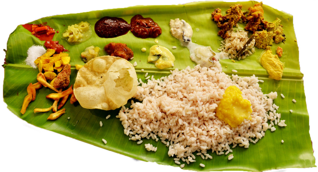 Onam sadya (Photo: Wikipedia)