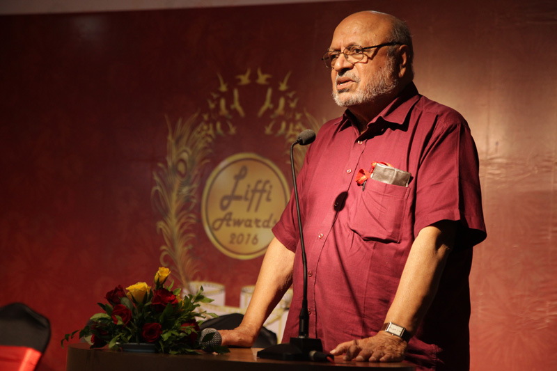 Filmmaker Shyam Benegal from the Lonavla International Film Festival India.
