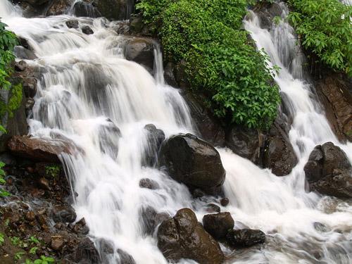 Sindhudurg-Amboli waterfalls gush in monsoon