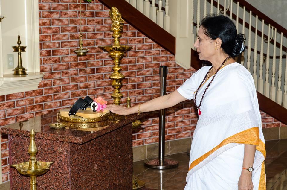 Acharya Shashi (Photo: Sanjay Padaki)