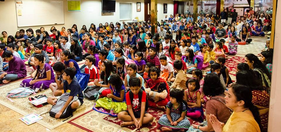 Chinmaya Mission kicks off Bala Vihar sessions (Photo: Sanjay Padaki)