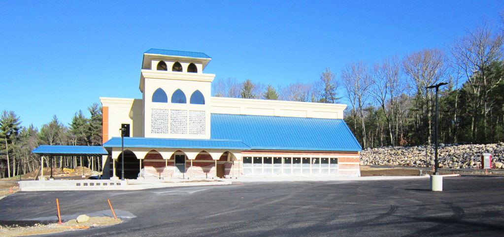 Exterior of new Gurdwara in Westborough