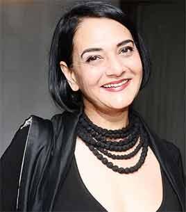 Fashion designer Poonam Bhagat