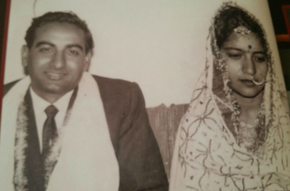 Puran Dang, with wife Kamlesh, lives in Lexington, MA (File photo courtesy: Puran Dang)