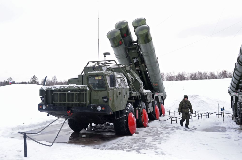 Russian new generation air defense system S-400 missile system. (Photo Credit: SPUTNIK/IANS)